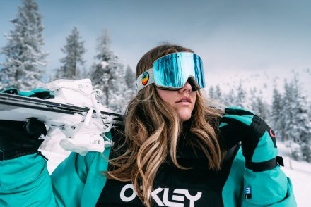 Skiier standing 2